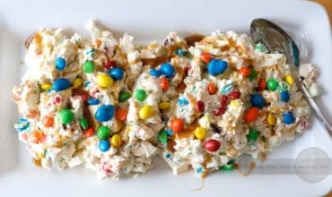 No Baking Recipe: M&M Munch Salad.  Take It To Your Next Party!