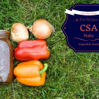Getting The Most Out Of Your CSA.  Make Vegetable Stock from How I Pinch A Penny.com