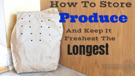 How To Store Produce So It Doesn't Go Bad from How I Pinch A Penny.com #pinoftheday #produce