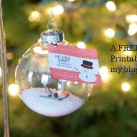 A FREE Printable on my blog!