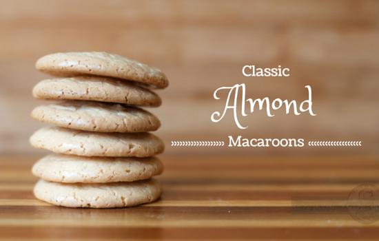 Classic Almond Macaroons