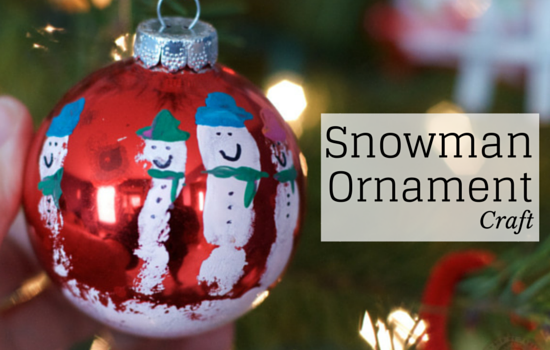 Snowman Ornament Craft To Help Make Your Holiday Season Extraordinary