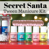 Secret Santa Tween Manicure Kit with Odorless Nail Polish from How I Pinch A Penny